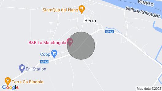 B&B Villa Berra - Riva del PO - Ferrara Map