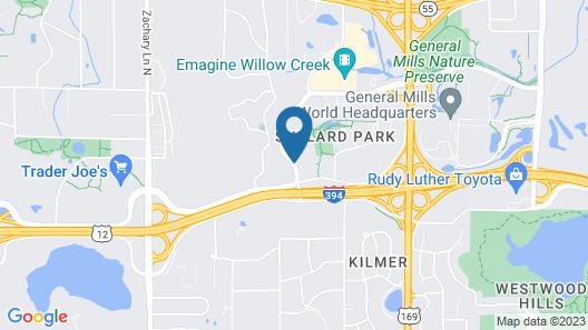 Minneapolis Marriott West Map