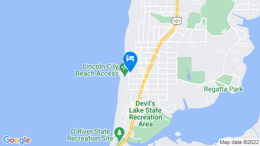 Seagull Beach Front Motel Map