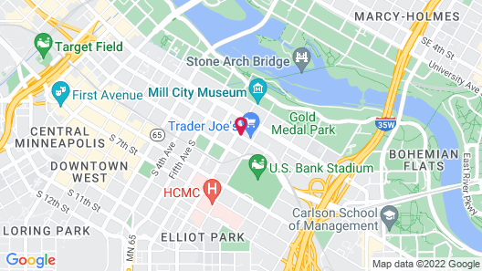 Canopy by Hilton Minneapolis Mill District Map