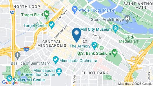 Hyatt Centric Downtown Minneapolis Map
