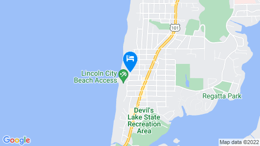 The Coho Oceanfront Lodge Map