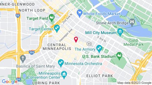 The Westin Minneapolis Map