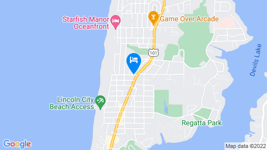 Travelodge by Wyndham Lincoln City Map