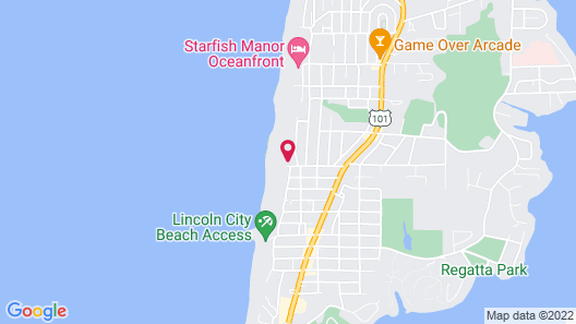 Seahorse Oceanfront Lodging Map