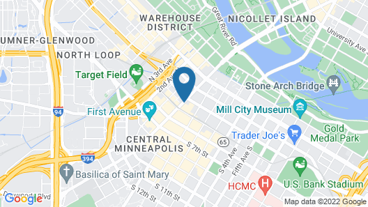 AC Hotel by Marriott Minneapolis Downtown Map