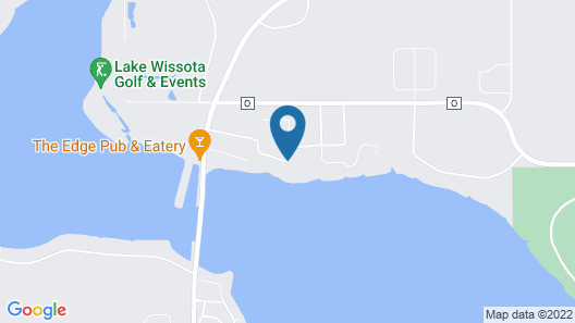 Inn On Lake Wissota Map