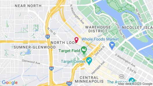 Element Minneapolis Downtown Map