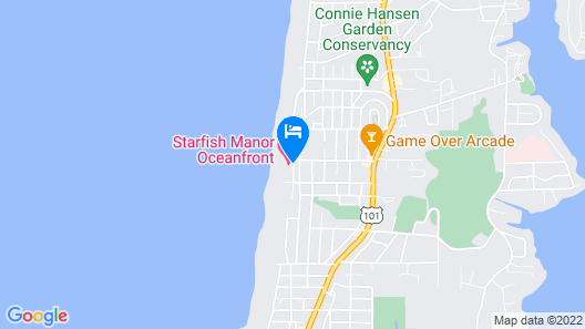 On the Beachfront Vacation Rentals Map