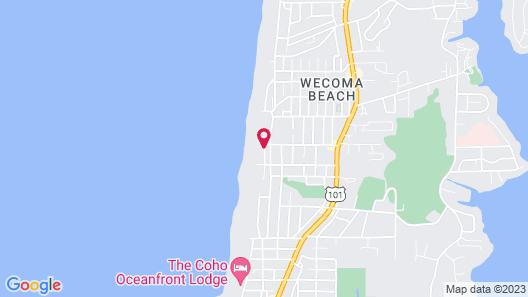 Starfish Manor Oceanfront Hotel Map