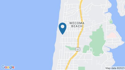 Beachfront Manor Hotel Map