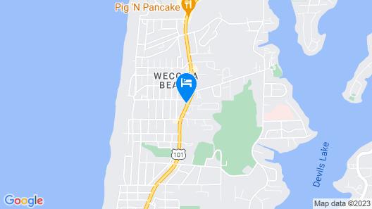 Inn at Wecoma Map