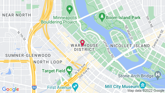 TownePlace Suites by Marriott Minneapolis Downtown/NorthLoop Map