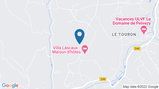 Domaine de la Licorne Map