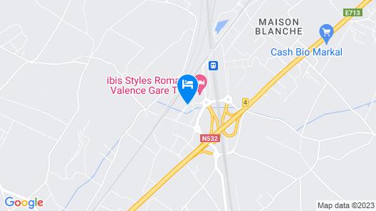 ibis Styles Romans Valence Gare Tgv Map