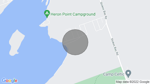 Cayala Cottage Bruce Peninsula Map