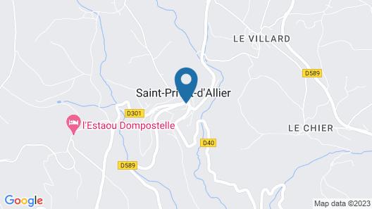 La Vieille Auberge Map