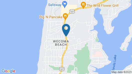 The Ashley Inn & Suites Map