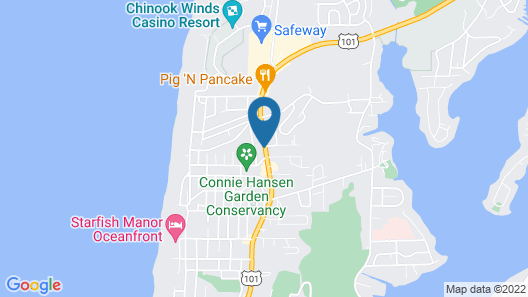 Motel 6 Lincoln City, OR Map