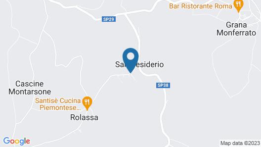 Relais San Desiderio Map