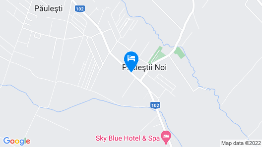 Sky Blue Hotel & Spa Map