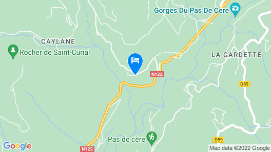 Le Figarelou Map