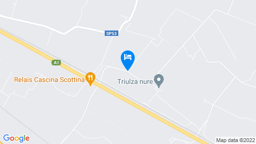 Relais Cascina Scottina Map
