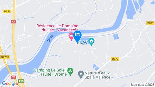 Vacancéole - Résidence le Domaine du Lac Map