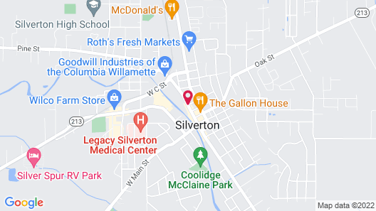 Silverton Inn & Suites Map
