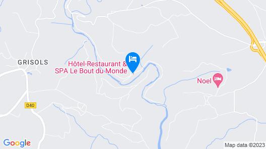 Hôtel le Bout du Monde Map