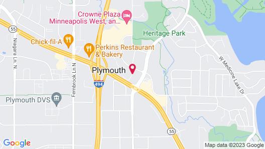 Residence Inn by Marriott Minneapolis Plymouth Map