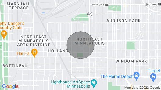 Good Vibes Only Live Here! New, Sassy, and Oh-so-much fun Just Happened in Northeast, Minneapolis Map