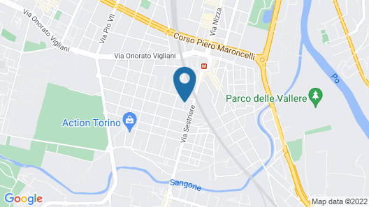 Hotel Residence Sestriere Map