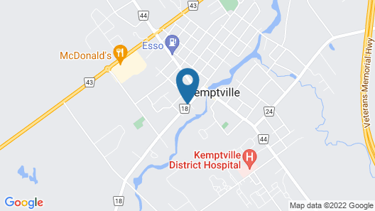 Kemptville Suites Map