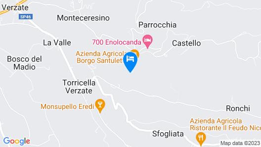 Borgo Santuletta Map