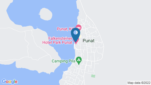 Falkensteiner Hotel Park Punat Map