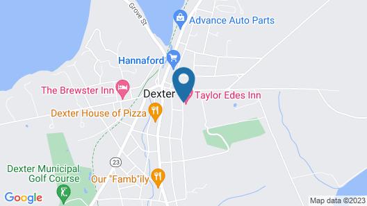 Taylor Edes Inn Map