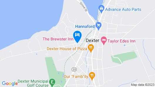 Brewster Inn Map