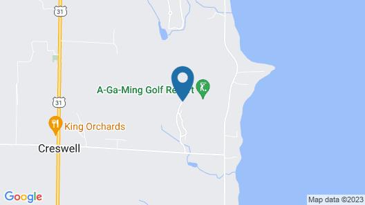 Agaming Golf Resort Map