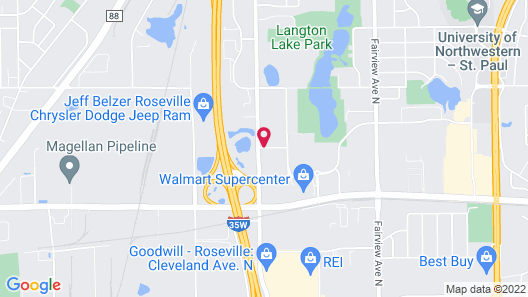 Home2 Suites by Hilton Roseville Minneapolis Map