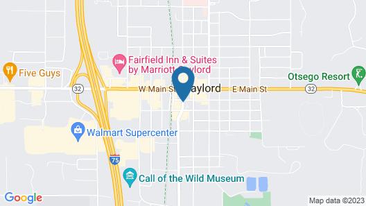 Downtown Motel Map