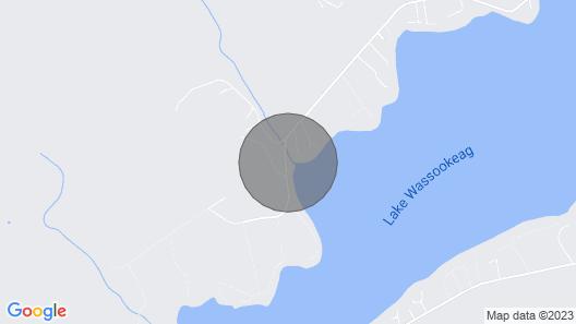 280 Shore Road Camp, Dexter, ME Map