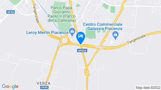 Hotel Stadio Map