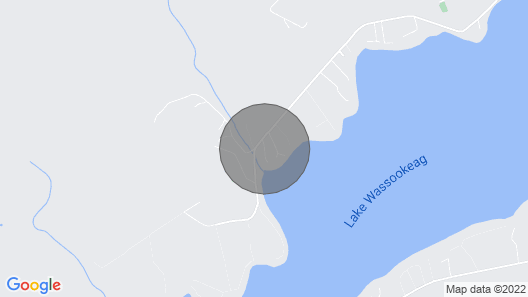 Relaxing Camp On Lake Wassookeag Map