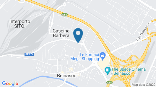 Hotel San Luigi Map
