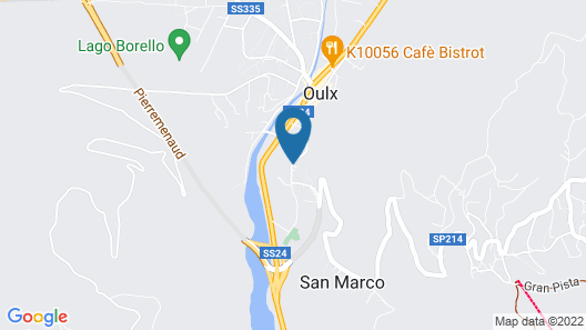 Hotel Chez Toi Map