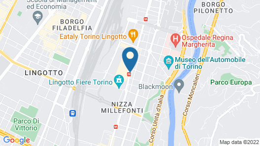 NH Torino Lingotto Congress Map