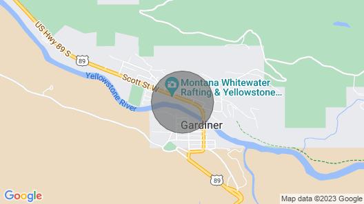 Yellowstone Beauty Overlooking Yellowstone River BRAND NEW Gardiner, MT  Map