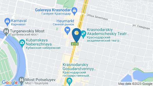 Krasnodar Marriott Hotel Map