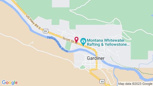 Super 8 by Wyndham Gardiner/Yellowstone Park Area Map